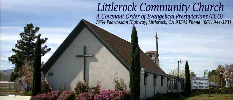 Littlerock Community Church - Covenant Order of Evangelical Presbyterians